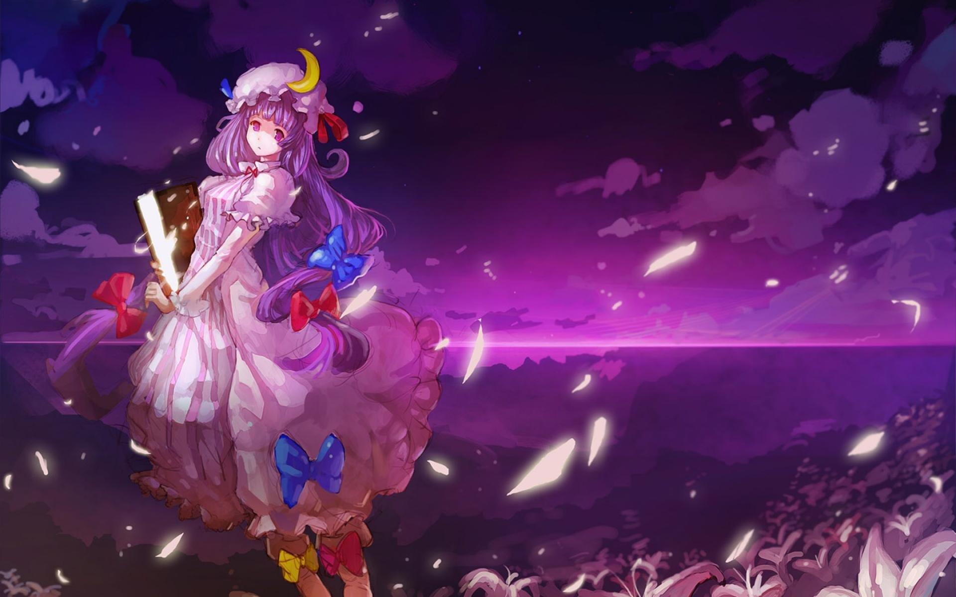 desktop-wallpaper-anime-girl-purple